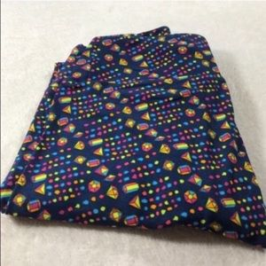 LuLaRoe one size os leggings new with tags.